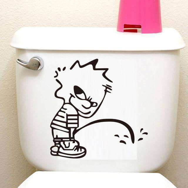 Toilet Seat Sticker Diy Wall Stickers,Home,Uunoshopping