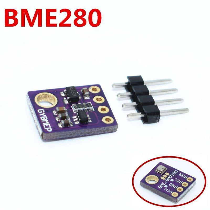 BME280 Digital Sensor Temperature Humidity Barometric Pressure Sensor Module I2C SPI 1.8-5V GY-BME280 5V/3.3V,Electronic Components & Supplies,Uunoshopping