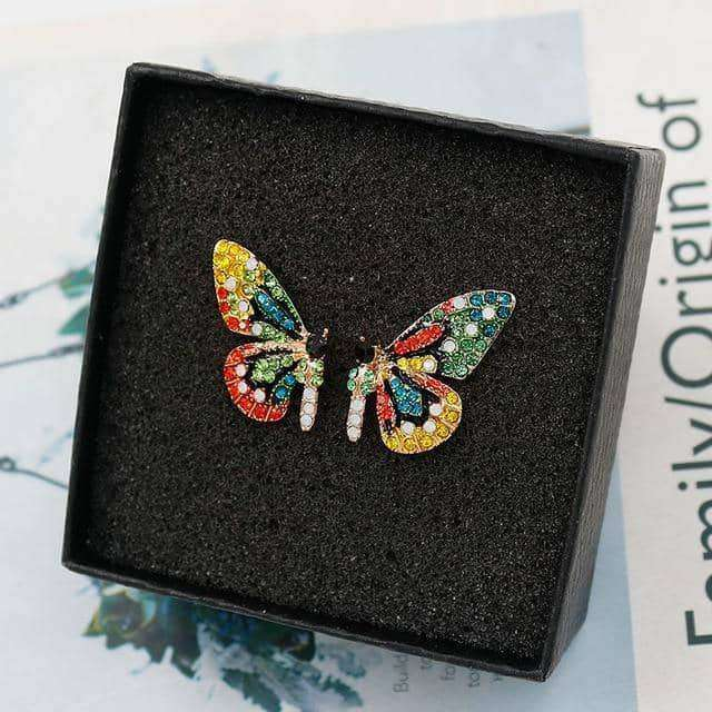 Butterfly Stud Earrings,Earrings,Uunoshopping