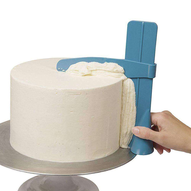 Cake Scraper Smoother Adjustable Fondant Spatulas,Home,Uunoshopping