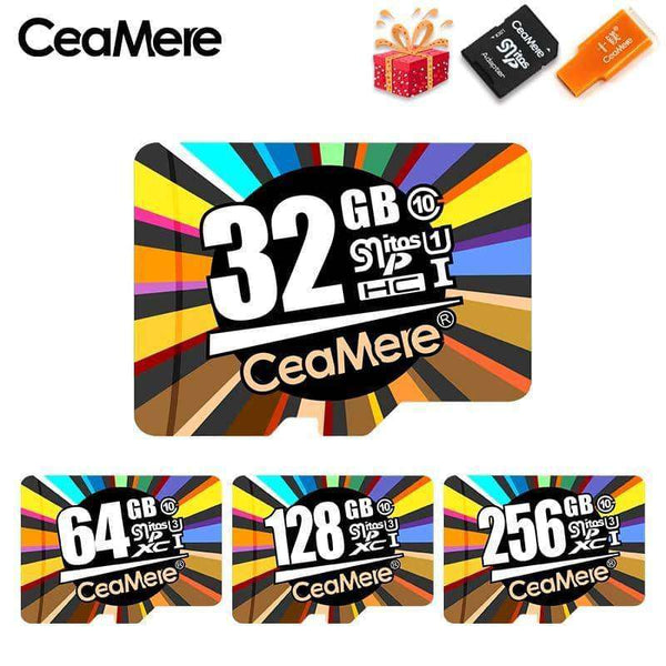 Card Memory Microsd TF/SD Cards 128GB,Memory Cards & Accessories,Uunoshopping
