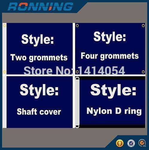 Custom Flag Banner Free Design 100D Polyester Advertising Outdoor Flag Brass Grommets,,Uunoshopping
