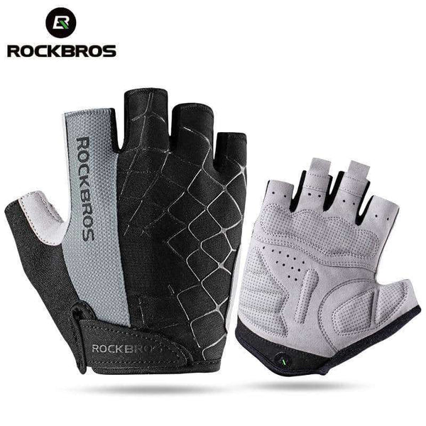 Cycling Bike Half Short Finger Gloves,Gloves & Ties,Uunoshopping