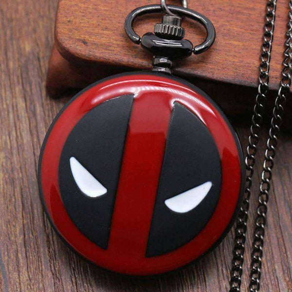 Deadpool Fullmental Alice in wonderland Nightmare Pocket Watch,Clock,Uunoshopping