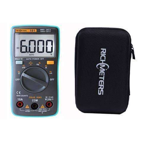 Digital Multimeter 6000 counts Backlight AC/DC Ammeter Voltmeter,tools electronics,Uunoshopping
