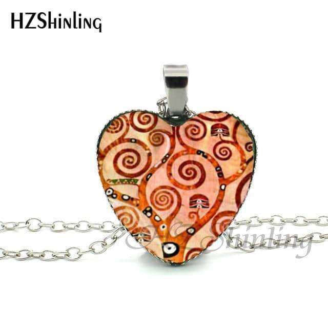 Divergent Heart Necklace,Necklaces & Pendants,Uunoshopping