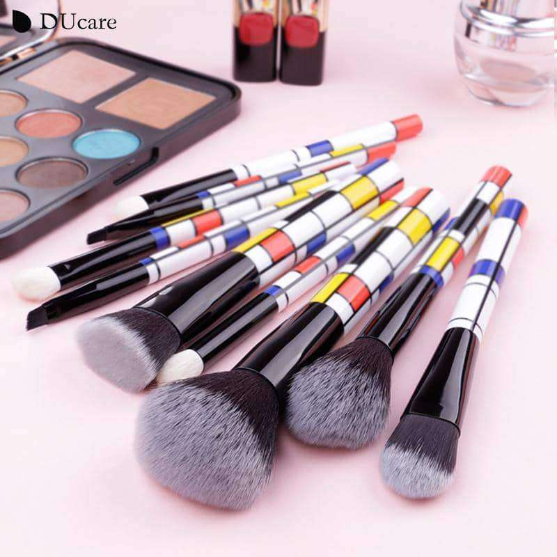 DUcare 9 PCS Make Up Brushes,Beauty1,Uunoshopping