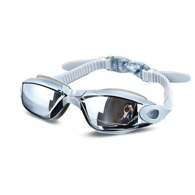 Electroplating UV Waterproof Anti fog Swimwear Eyewear for Men, Women,sports,Uunoshopping