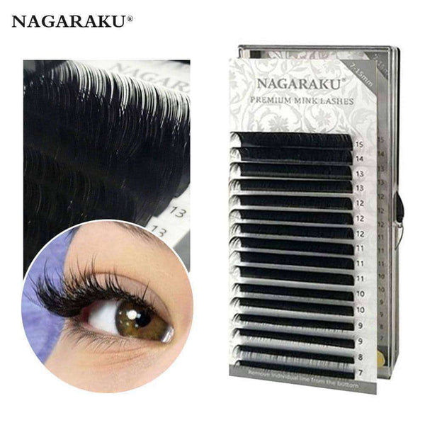 Eyelashes 16 Rows Mix 7-15mm,Beauty1,Uunoshopping