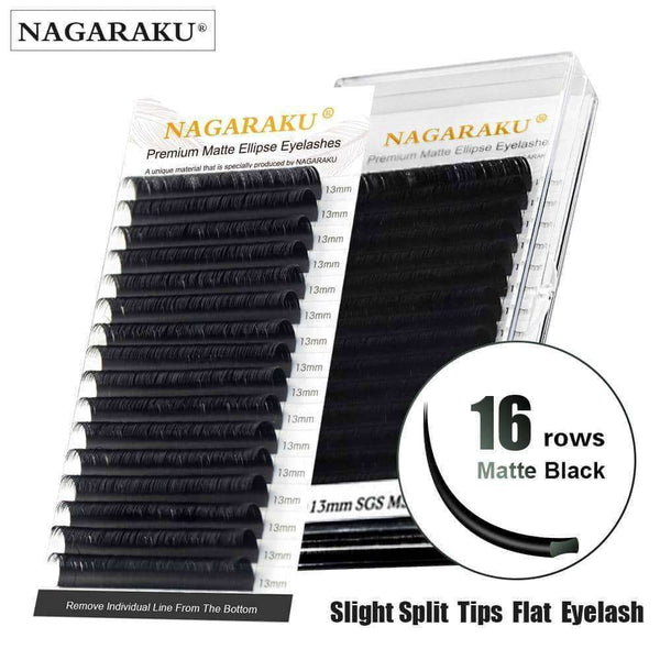 Eyelashes Natural Dark Black Matte Hair,Beauty1,Uunoshopping