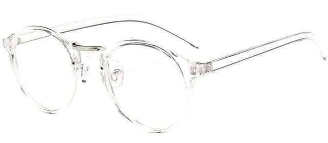 Fashion Transparent round glasses clear frame,Sun Glasses,Uunoshopping