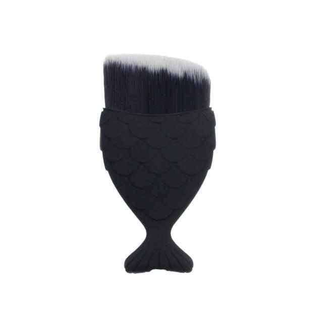 1Pcs Mermaid Shape Makeup Brush,Beauty1,Uunoshopping