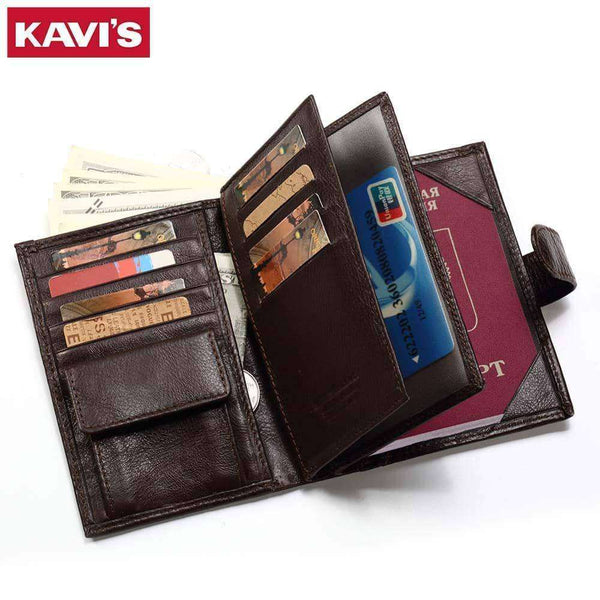 Genuine Leather Wallet Men,Wallets & Holders,Uunoshopping