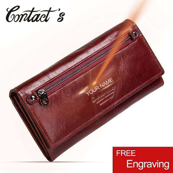 Genuine Leather Woman Wallet,Wallets & Holders,Uunoshopping