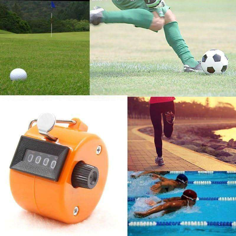 Hand 4 Digital Tally Counter,sports,Uunoshopping