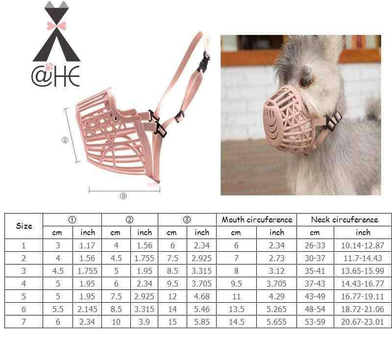 Adjusting Pet Dog Muzzle,pet products,Uunoshopping