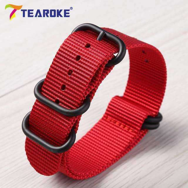 Heavy Duty Nylon Watchband NATO ZULU Strap,watch accessories,Uunoshopping