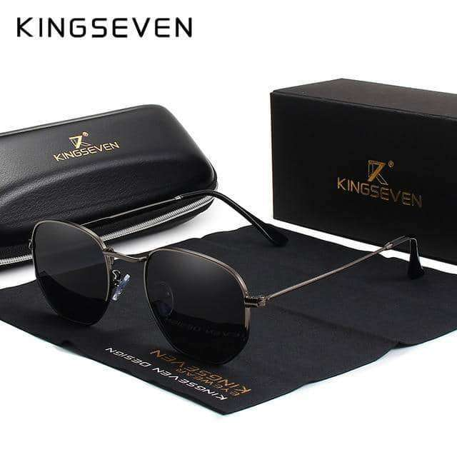 KINGSEVEN  Reflective Sunglasses Men,Sun Glasses,Uunoshopping