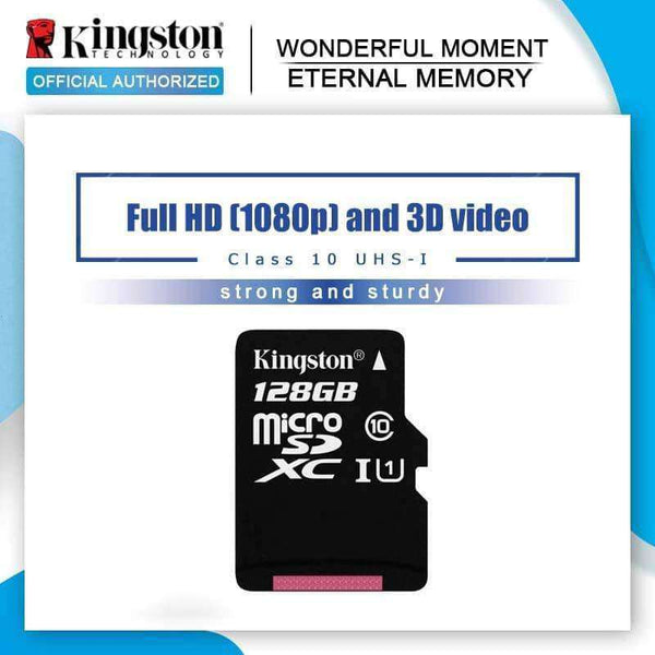 Kingston Micro SD 128GB 64GB 32GB 16G,Memory Cards & Accessories,Uunoshopping