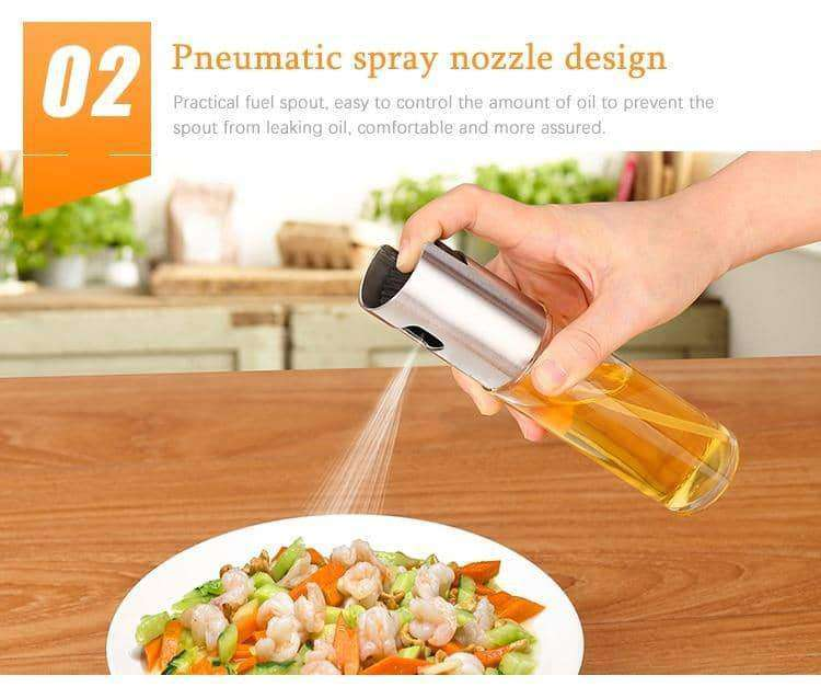 Kitchen Baking Oil Cook Oil Spray Empty Bottle,Home,Uunoshopping