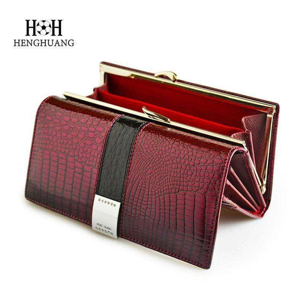 Leather Womens Wallets,Wallets & Holders,Uunoshopping