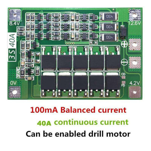 Li-ion Lithium Battery Charger Lipo Cell Module PCB BMS Protection Board,Electronic Components & Supplies,Uunoshopping