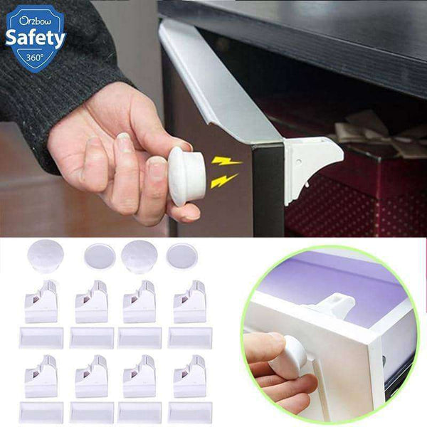 Magnetic Children Safety Lock 4/8pcs lock,Home,Uunoshopping