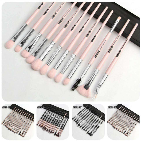 Makeup brushes set12 pcs/lot,Beauty1,Uunoshopping