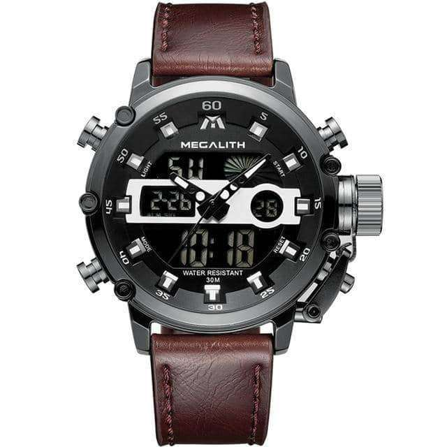 MEGALITH Fashion Men's Sport,Men's watches,Uunoshopping