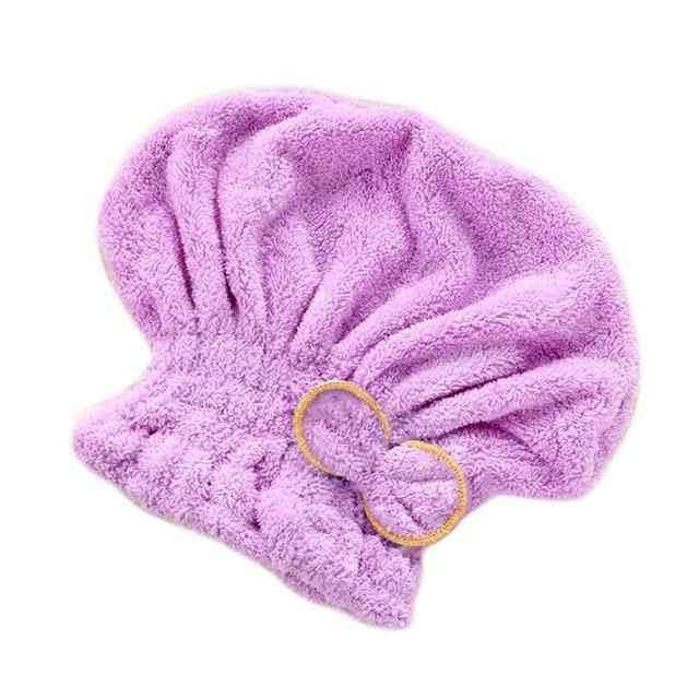 Hair Drying Bath Spa Bowknot Wrap Towel,Home,Uunoshopping