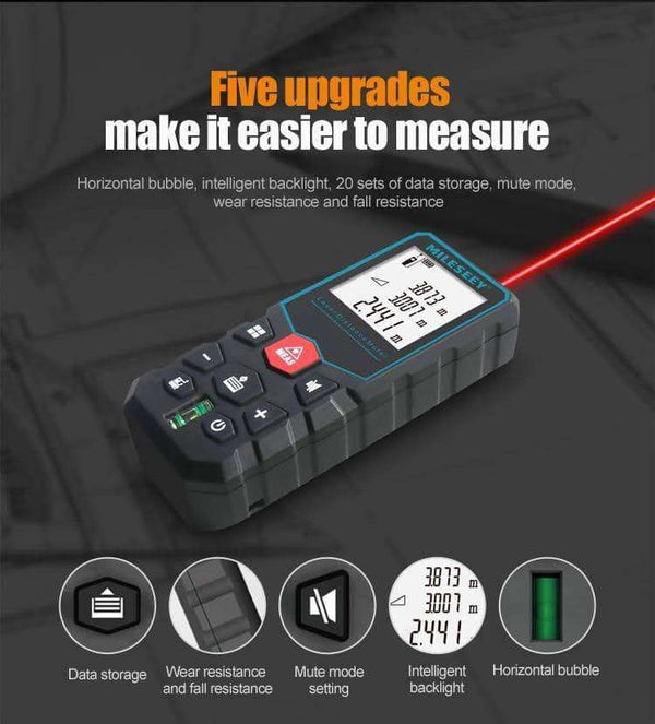 Mileseey laser distance meter,Electronic Components & Supplies,Uunoshopping