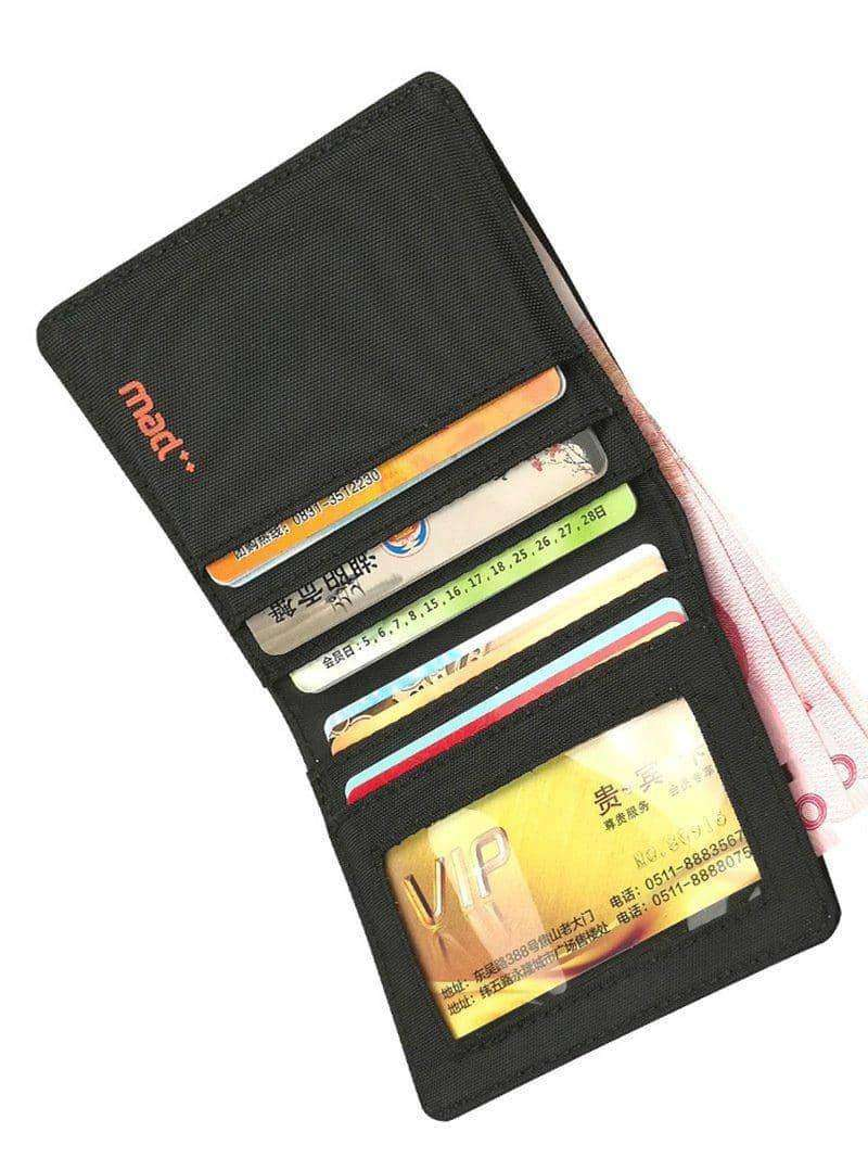 Minimalist Slim Nylon Wallet,Wallets & Holders,Uunoshopping