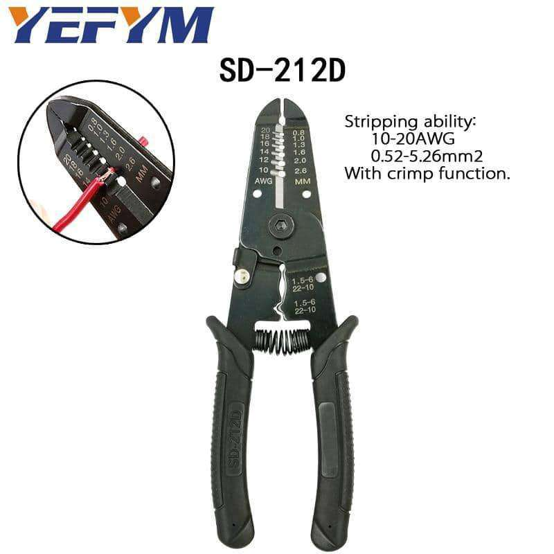 Multi tools pliers stripper cutter,tools electronics,Uunoshopping