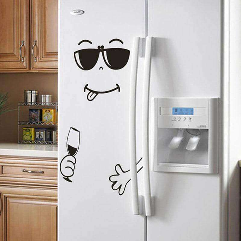 New 4 Styles Smile Face Wall Sticker,Home,Uunoshopping
