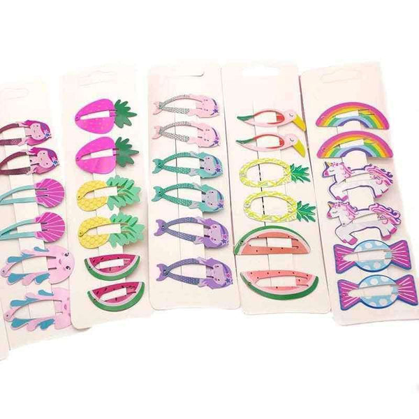 Kids Hair Accessories Headwear 6Pcs/Set,Hair Care & Styling,Uunoshopping