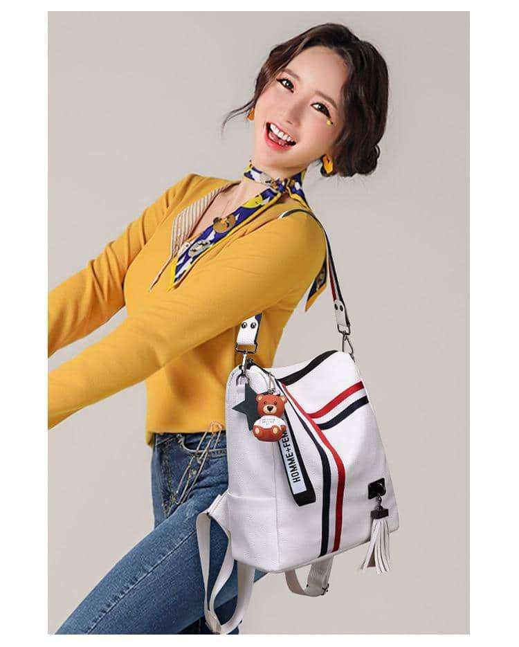 New retro fashion zipper ladies backpack,Belts & Bags,Uunoshopping