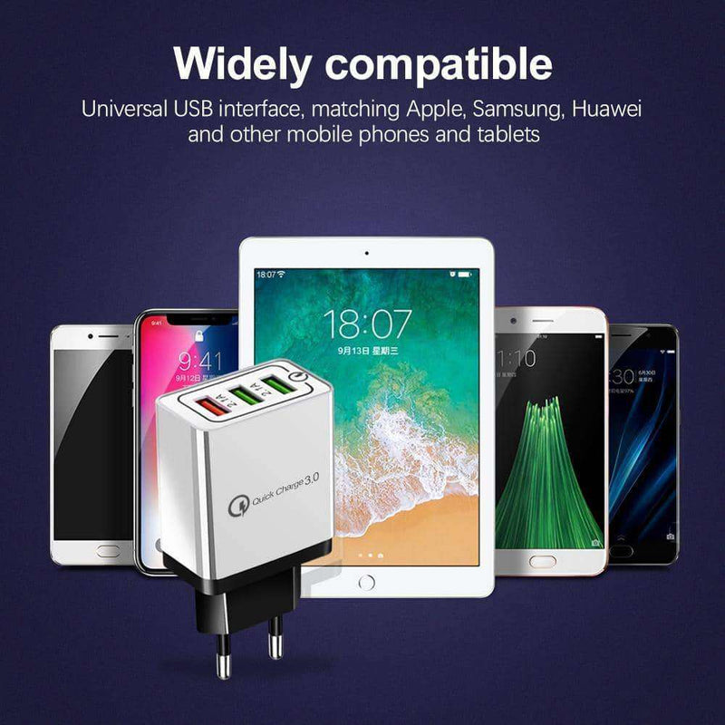 USB Charger quick charge 3.0,Phone Accessories,Uunoshopping