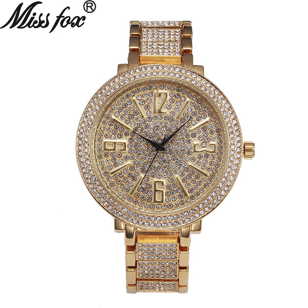 Women Large Dial Arabic Numeral Watches,Women'swatches,Uunoshopping