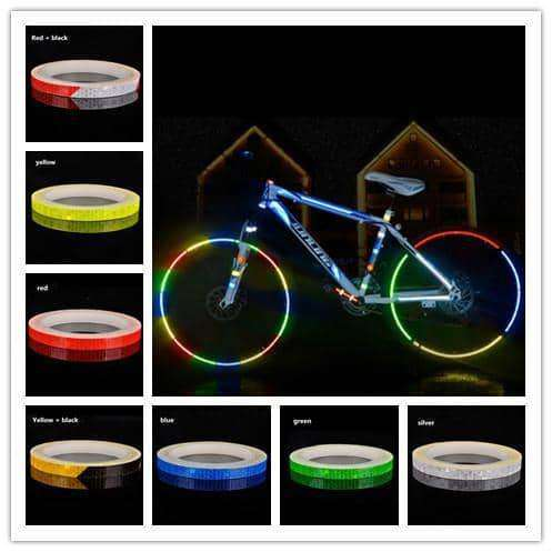 Reflective Tape Fluorescent MTB Bike Bicycle,Bicycle,Uunoshopping