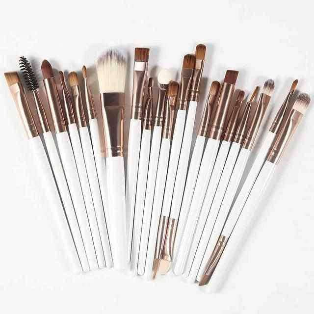 20Pcs Professional Makeup Brushes Set,Beauty1,Uunoshopping
