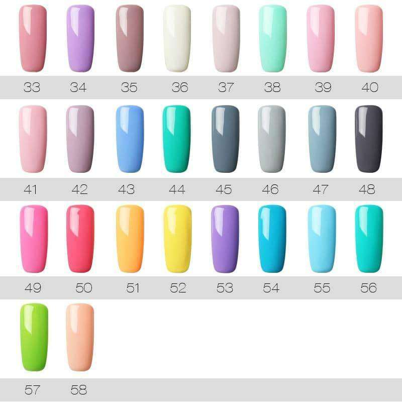 7ML UV Gel Varnish Nail Polish,nails tools,Uunoshopping