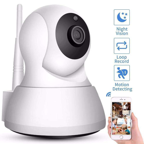 Security IP Camera Wi-Fi 1080P 720P Wireless,Camera & Accessories,Uunoshopping