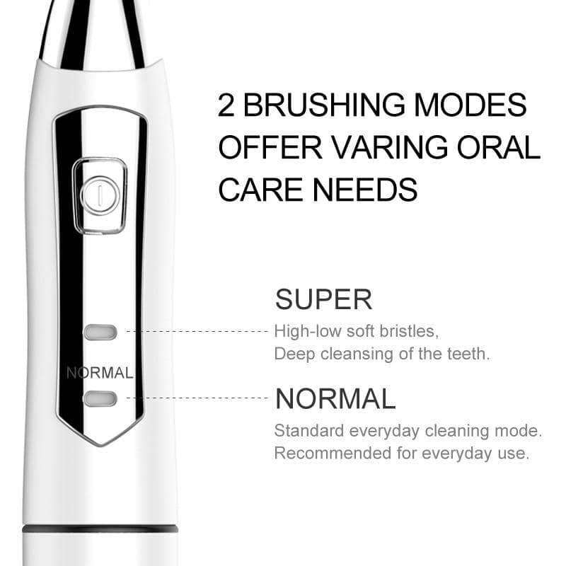 SEAGO Electric Toothbrush with 3 Brush Heads,Home,Uunoshopping