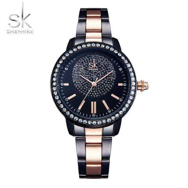 Shengke Rose Gold Watch Women Quartz Watches,Women'swatches,Uunoshopping