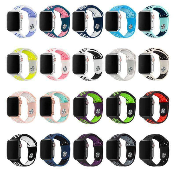 Silicone Replacement Sport Band For Apple Watch Band,watch accessories,Uunoshopping