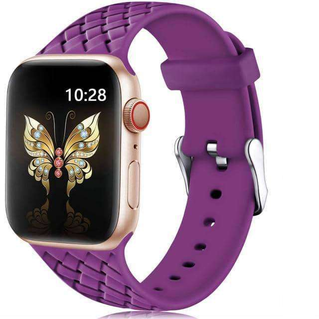 Silicone Strap for Apple watch 4 5 3 2 1,watch accessories,Uunoshopping