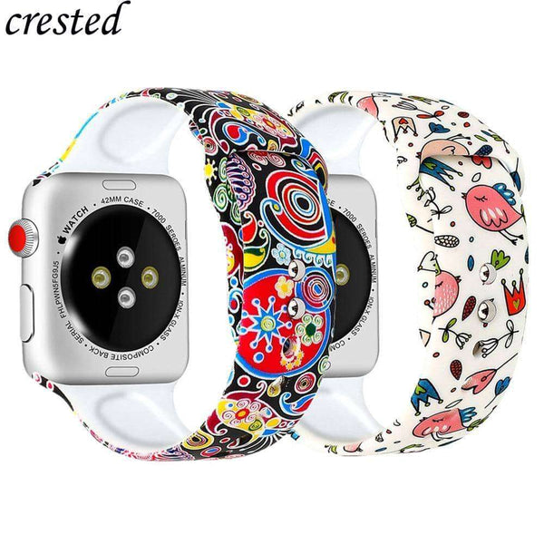Silicone strap for Apple Watch,watch accessories,Uunoshopping