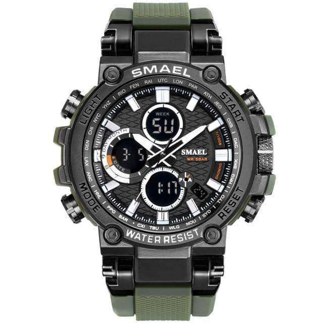 SMEAL Men Watch Digital Clock Men Army Military Watches LED,Men's watches,Uunoshopping