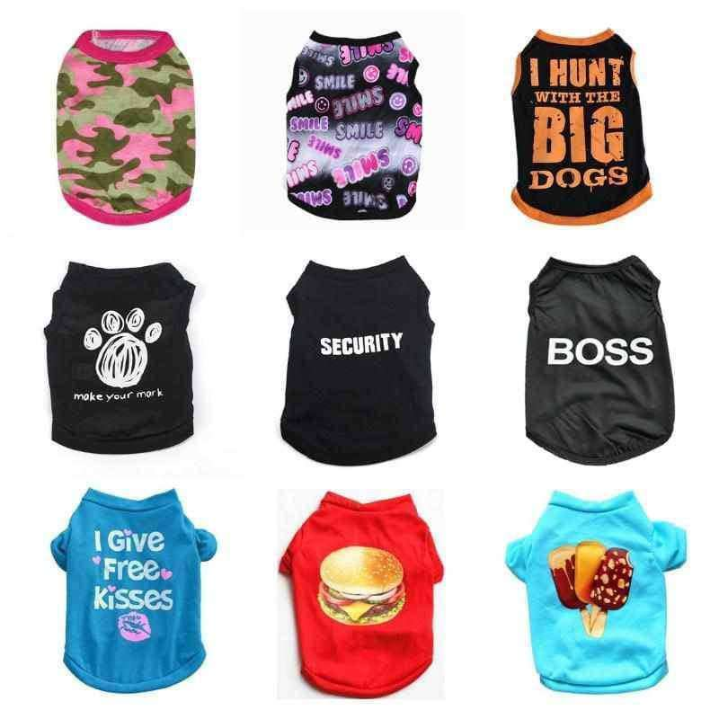 Small Dog Summer Dog Clothes,pet products,Uunoshopping
