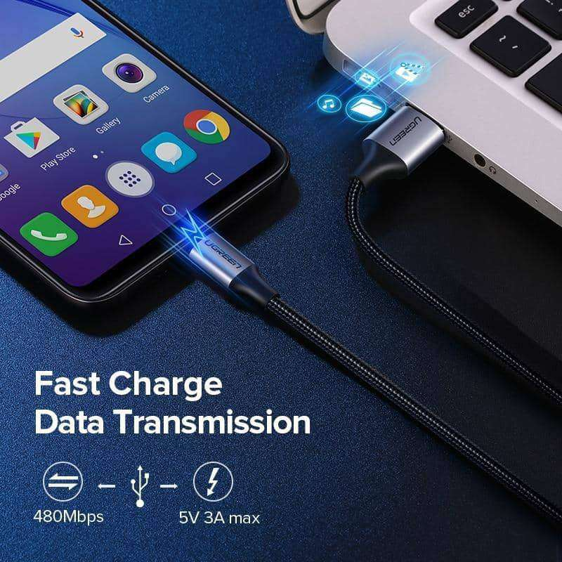 Micro USB Cable 2.4A Fast Charge,Phone Accessories,Uunoshopping
